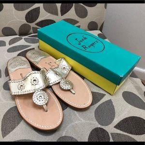New Jack Rogers Hampton sandals Size 10